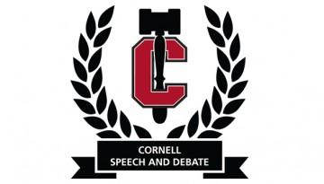 Cornell Speech and Debate logo