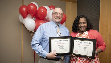 ILR School staff and faculty recognized for excellence and service