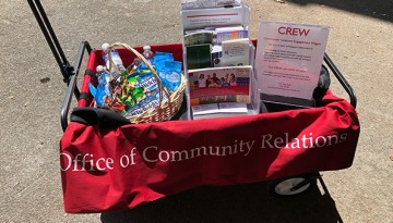 Community Relations wagon