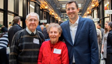 Matt Nagowski with his grandparents