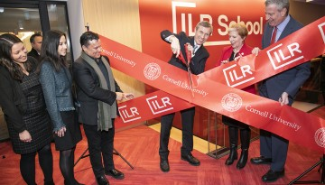 ILR ribbon cutting