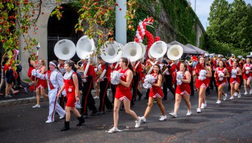 Big Red Marching Band, Homecoming 2015.