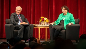 Supreme Court Justice Sonia Sotomayor visits to Cornell in 2018.