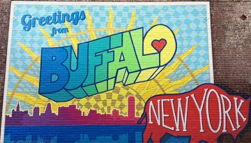 Buffalo New York sign