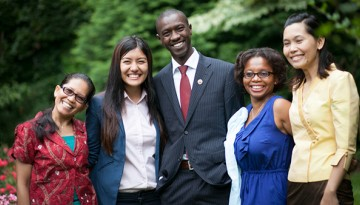 The 2013-14 Humphrey Fellows