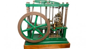 model of a steam engine