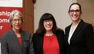 Katherine Hajjar, Martha Pollack and Ruth Gotian