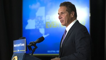 Gov. Andrew Cuomo speaks at Cornell