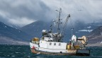 Iceland fishing boat