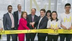 Milstein program ribbon cutting