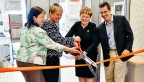 3M lab ribbon cutting