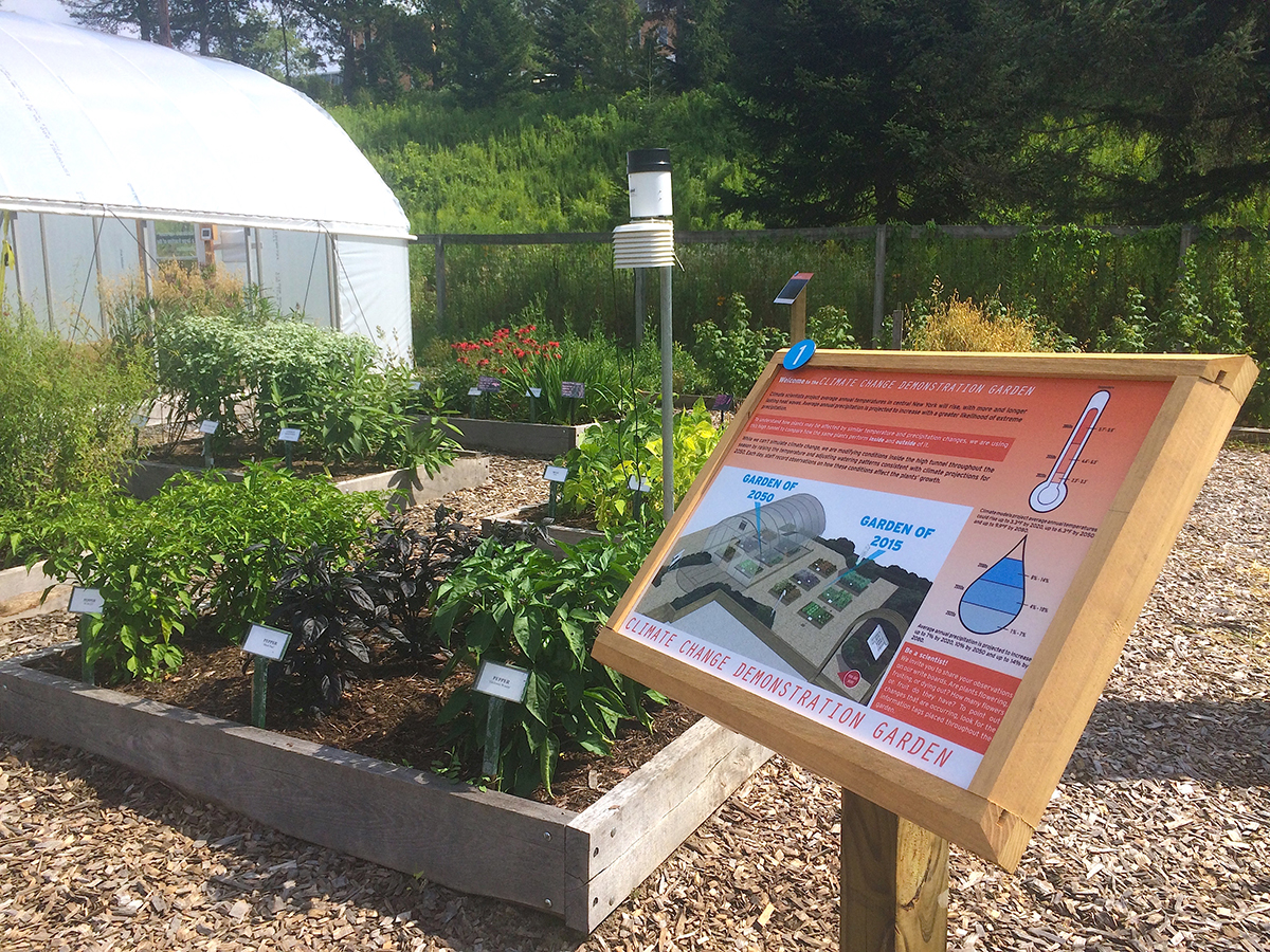 Climate Change Demonstration Garden