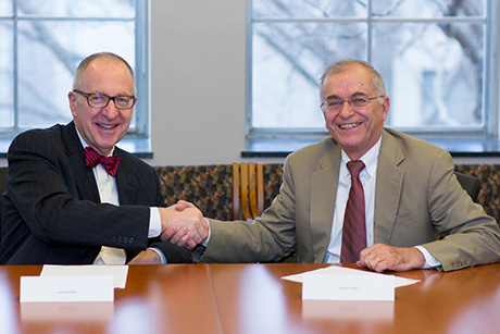 David Skorton and Charles Elachi