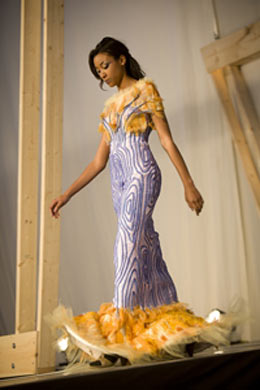 Tree Like Gown Takes Top Prize In High School Design Contest Cornell Chronicle
