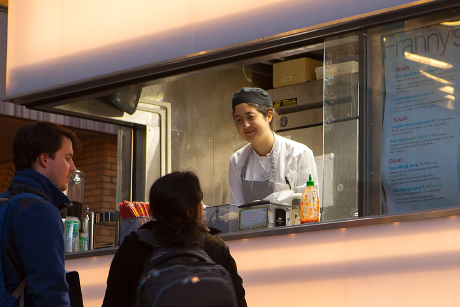 Franny's food cart now serving near Sibley Hall | Cornell Chronicle