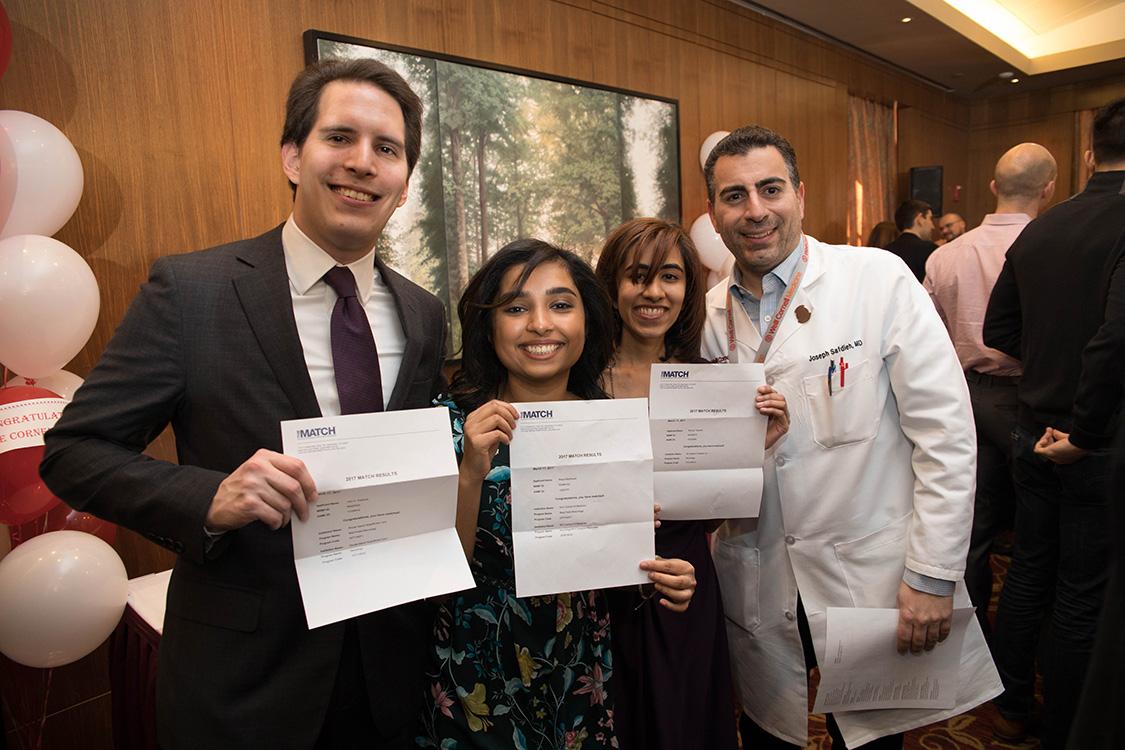 Weill Cornell Medicine celebrates Match Day 2017 | Cornell