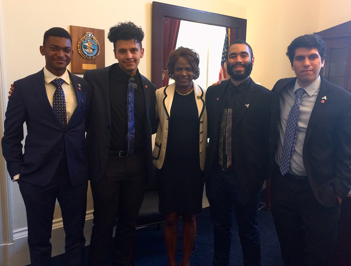 McNair scholars meet with Val Demings