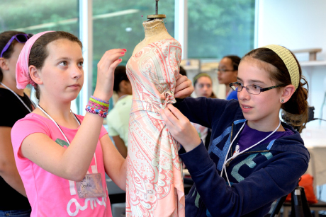 Program Stitches Together Stem Fashion Design Cornell Chronicle