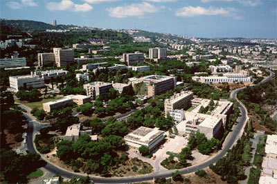aerial view of Technion
