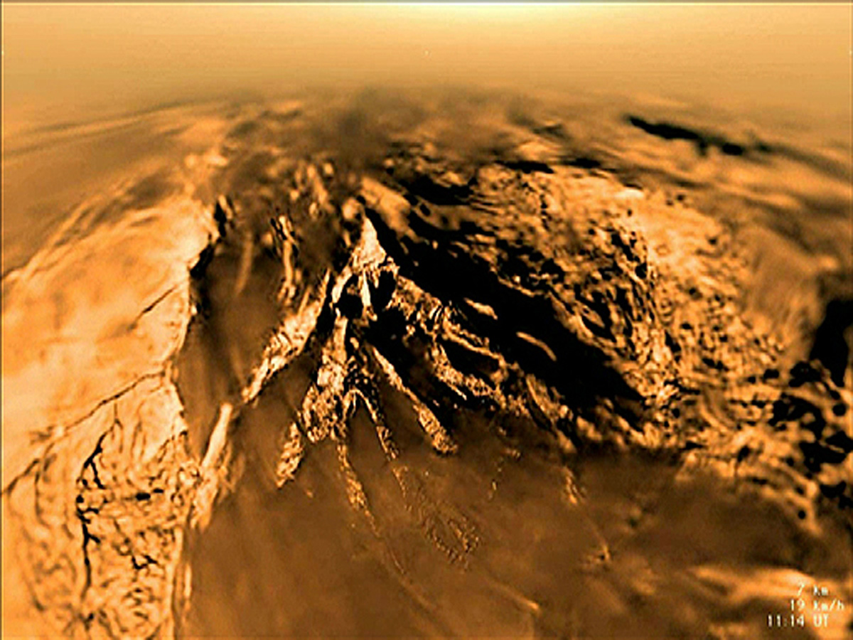 Titan may host non-water-based life
