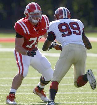 Big Red tackle JC Tretter trains for Senior Bowl | Cornell Chronicle