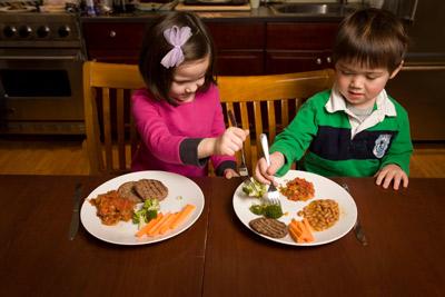 adults on diet temptation food experimen