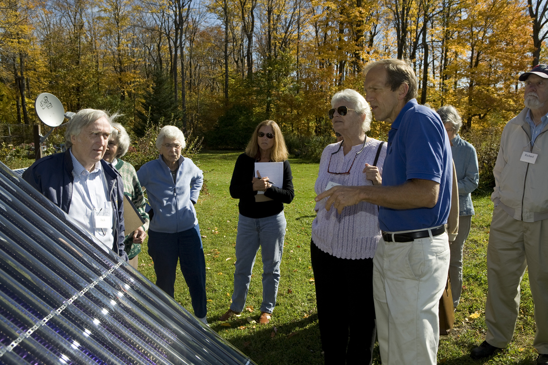 Retirees learn about sustainable energy
