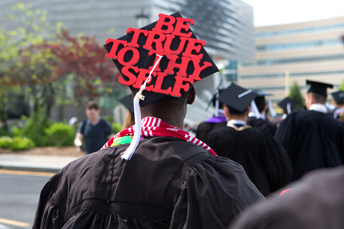 decorated mortar board