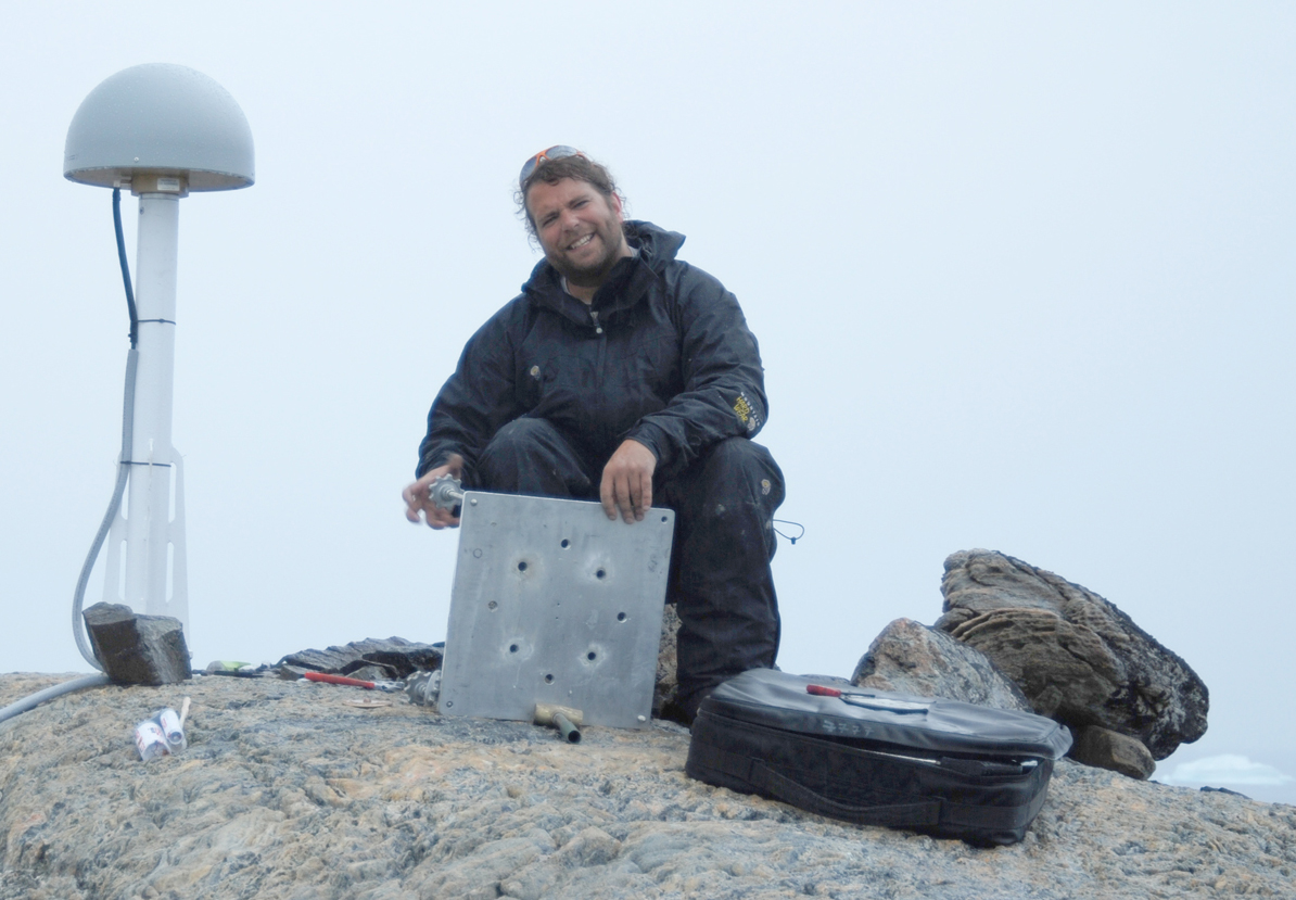 Mike Willis in Greenland
