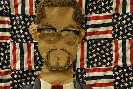 Malcolm X quilt