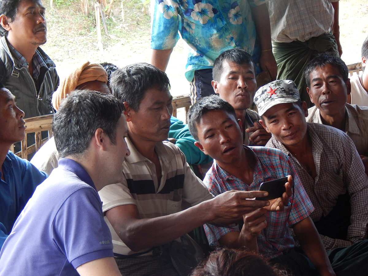 Myanmar cell phone