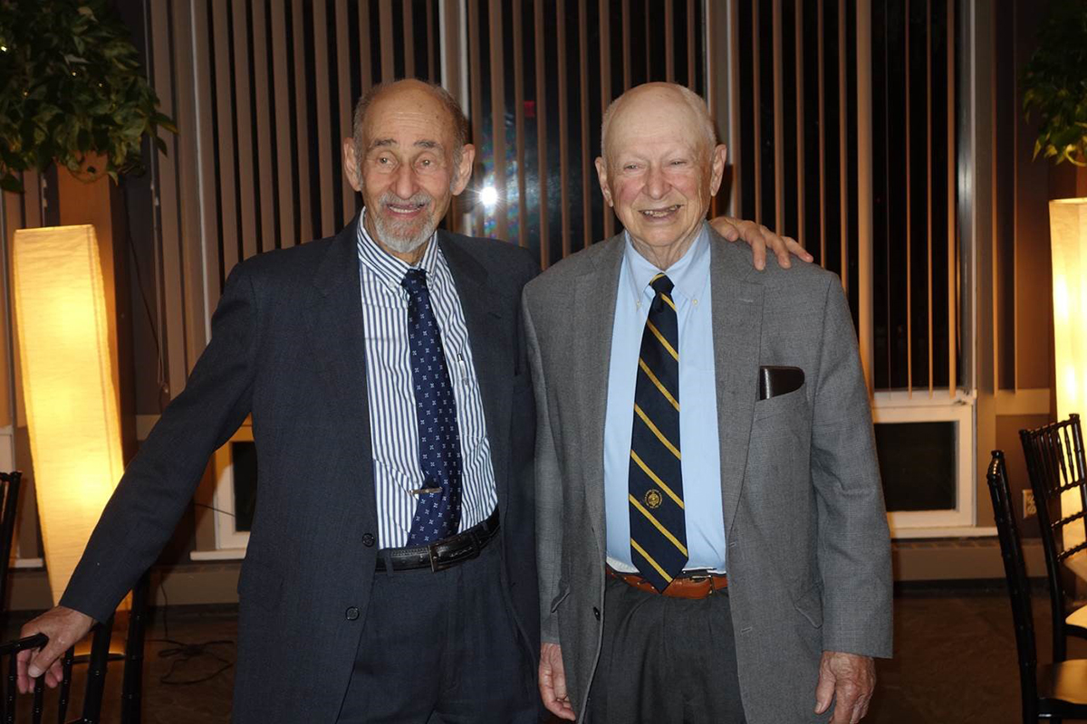 Sy Smidt and Harold Bierman