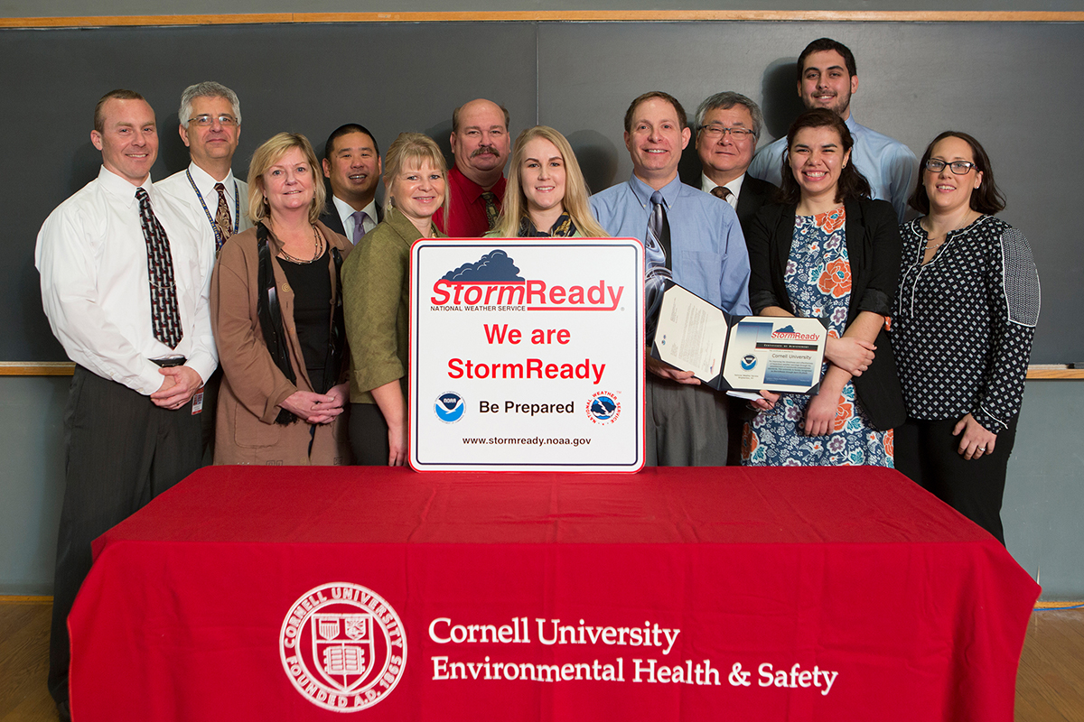 Cornell receives Storm Ready award