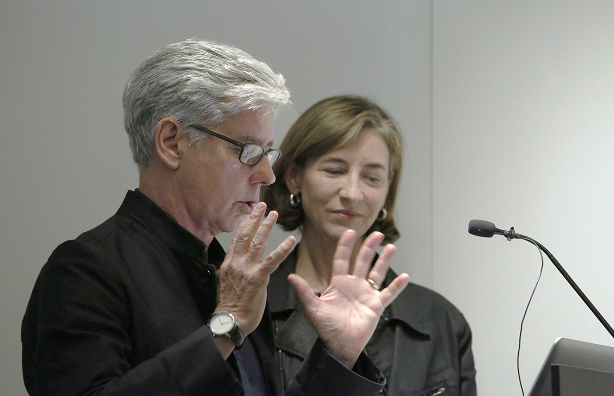 Michael Manfredi and Marion Weiss