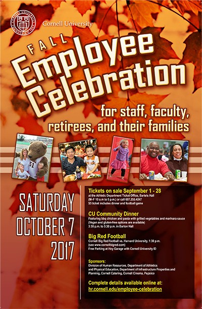 Cornell Employee Fall Celebration Poster