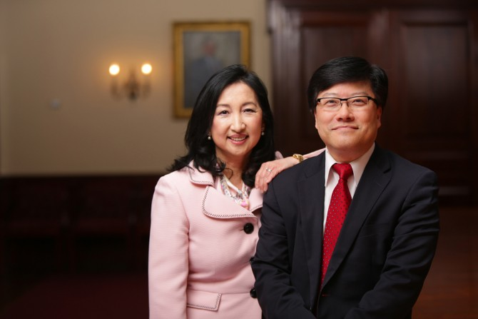 Mary and Augustine Choi
