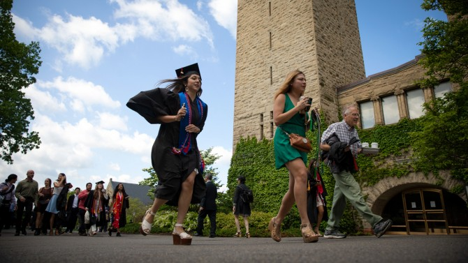 Running to commencement