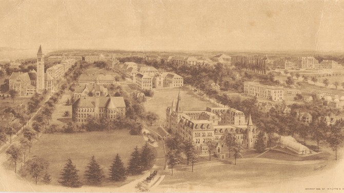 Older view of Cornell