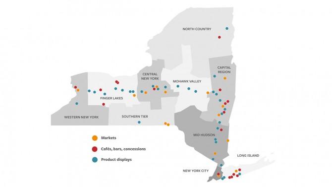 Taste NY map