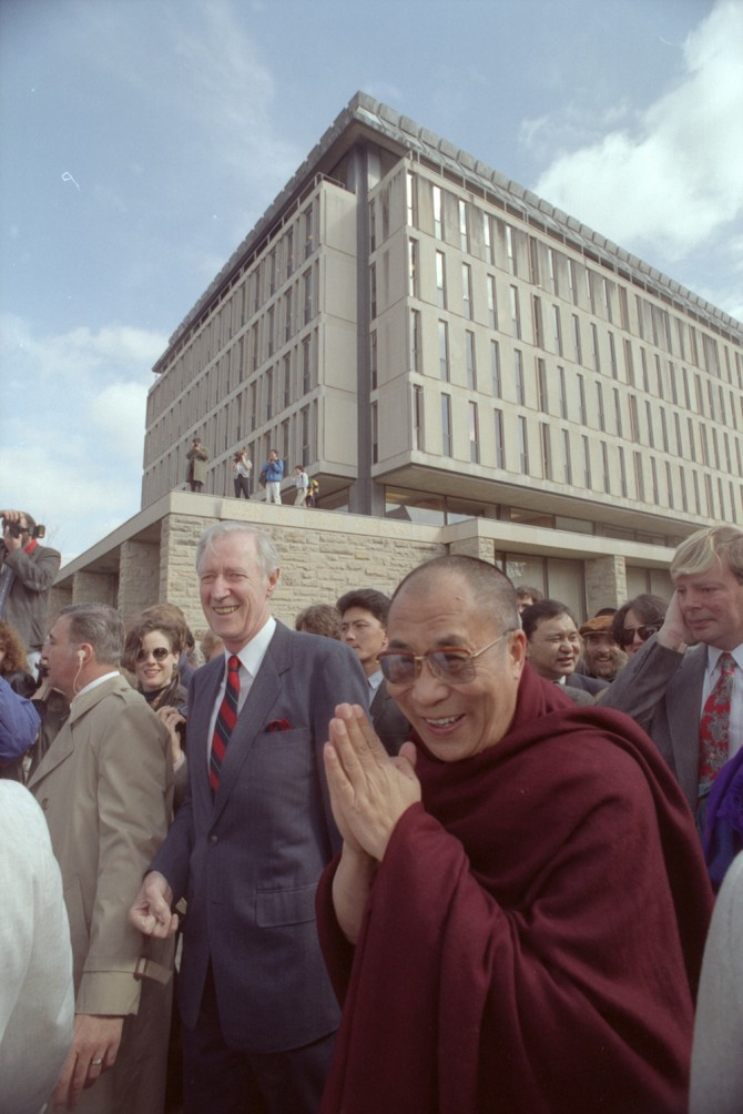 Rhodes and the Dalai Lama