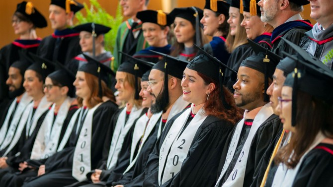 Cornell Master of Public Health program's inaugural graduating class