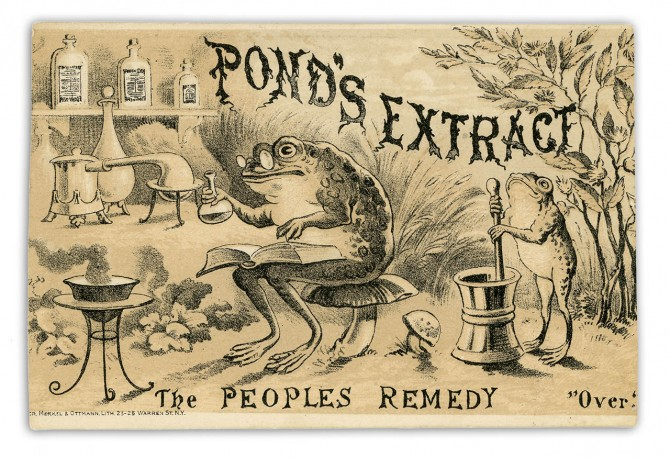 Pond's Extract, from Pond's Extract Co. (New York City and London)