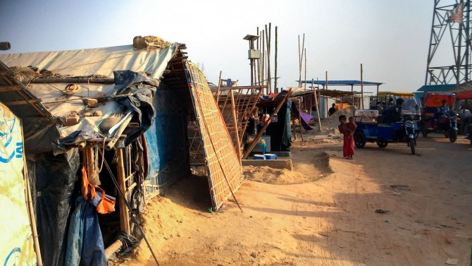 Bangladesh refugee camp