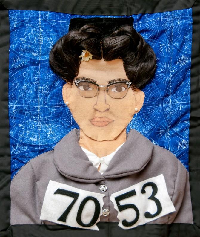 Rosa Parks quilt