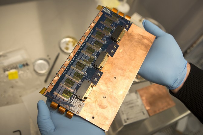A prototype superconducting detector and readout circuits