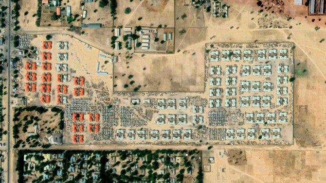 Camps in and around Maiduguri and other cities in northeastern Nigeria