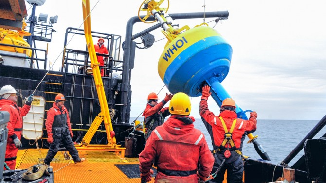 acoustic monitoring buoy