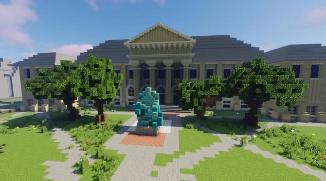Minecraft of Goldwin Smith hall