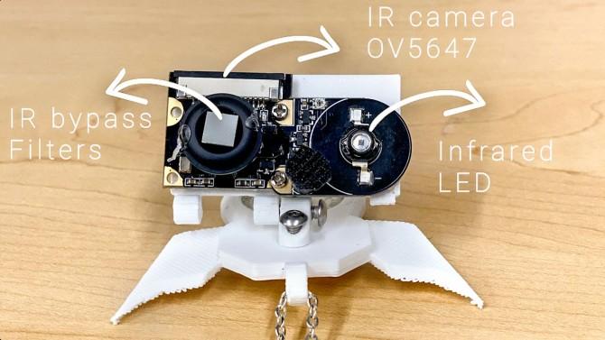 NeckFace wearable sensing technology hardware