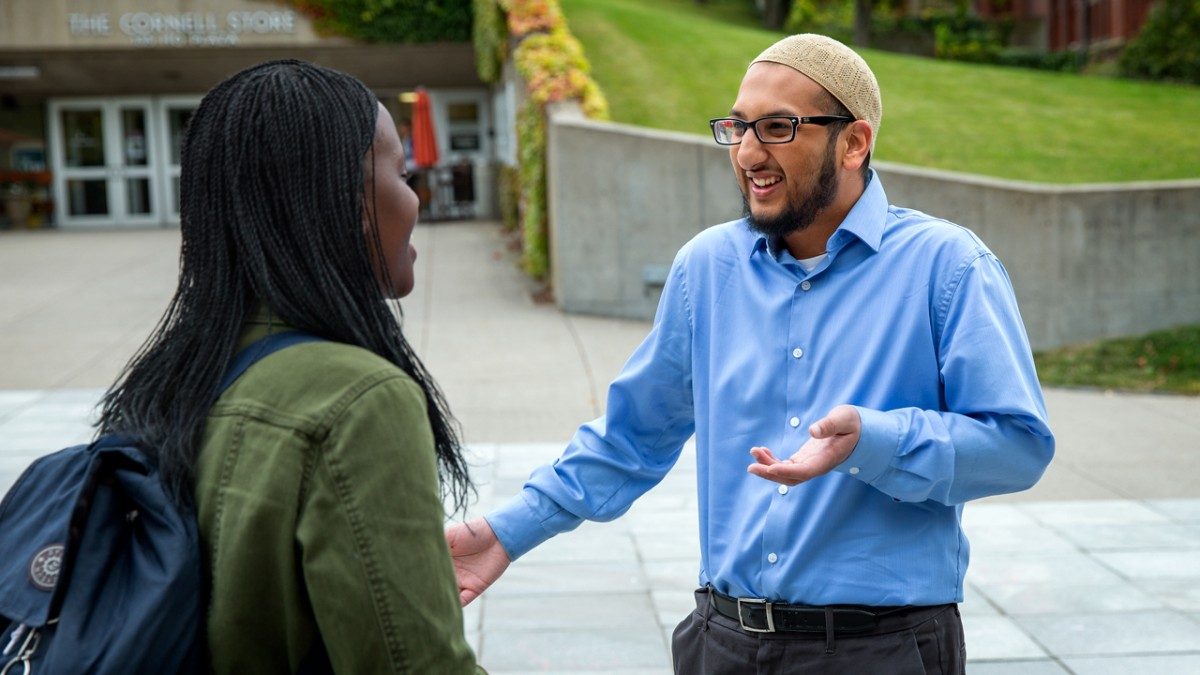 cornell muslim On wednesday, cornell university sent the daily caller a statement by david j  the ex-employee also condemned muslim women who remove their head scarf .